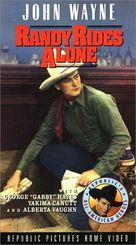 Randy Rides Alone - VHS cover (xs thumbnail)