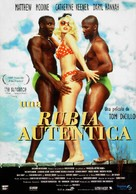 The Real Blonde - Spanish Movie Poster (xs thumbnail)