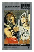 Gli orrori del castello di Norimberga - Danish VHS cover (xs thumbnail)
