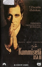 The Godfather: Part III - Finnish VHS movie cover (xs thumbnail)