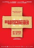 Aufschneider, Die - German poster (xs thumbnail)