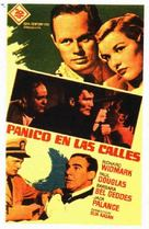 Panic in the Streets - Spanish Movie Poster (xs thumbnail)