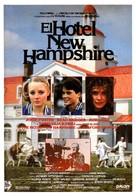 The Hotel New Hampshire - Spanish Movie Poster (xs thumbnail)