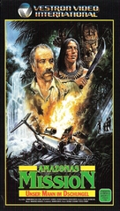 Unser Mann im Dschungel - German VHS movie cover (xs thumbnail)