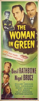 The Woman in Green - Movie Poster (xs thumbnail)