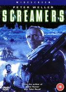 Screamers - British DVD cover (xs thumbnail)