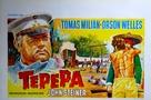 Tepepa - Belgian Movie Poster (xs thumbnail)