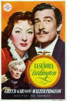 Mrs. Parkington - Spanish Movie Poster (xs thumbnail)