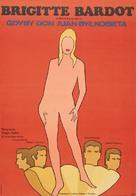 Don Juan ou Si Don Juan était une femme... - Polish Movie Poster (xs thumbnail)