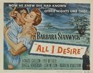 All I Desire - Movie Poster (xs thumbnail)