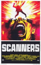 Scanners - Italian Theatrical poster (xs thumbnail)
