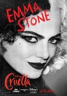 Cruella - Spanish Movie Poster (xs thumbnail)