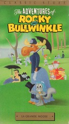"""""""The Bullwinkle Show"""" - VHS movie cover (xs thumbnail)"""