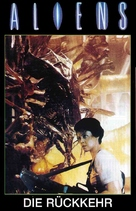 Aliens - German VHS movie cover (xs thumbnail)