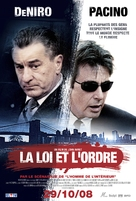 Righteous Kill - Belgian Movie Poster (xs thumbnail)