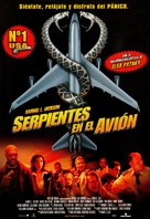 Snakes On A Plane - Spanish Movie Poster (xs thumbnail)