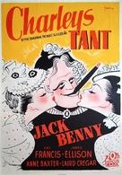 Charley's Aunt - Swedish Movie Poster (xs thumbnail)