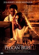 The Pelican Brief - DVD cover (xs thumbnail)