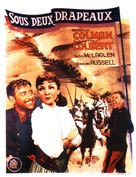 Under Two Flags - French Movie Poster (xs thumbnail)