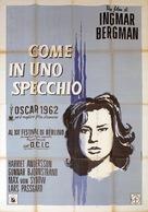 Såsom i en spegel - Italian Movie Poster (xs thumbnail)