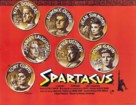 Spartacus - British Movie Poster (xs thumbnail)