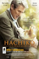 Hachiko: A Dog's Story - Malaysian Movie Poster (xs thumbnail)