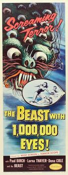 The Beast with a Million Eyes - Movie Poster (xs thumbnail)