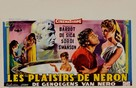 Mio figlio Nerone - Belgian Movie Poster (xs thumbnail)