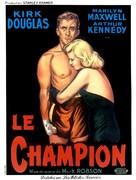 Champion - French Movie Poster (xs thumbnail)