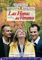 L'heure d'été - Argentinian Movie Poster (xs thumbnail)