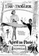 April in Paris - Movie Poster (xs thumbnail)