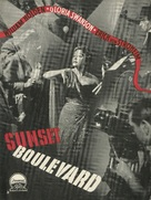Sunset Blvd. - Danish Movie Poster (xs thumbnail)