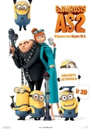 Despicable Me 2 - Lithuanian Movie Poster (xs thumbnail)