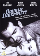 Double Indemnity - British DVD movie cover (xs thumbnail)