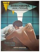 Hiroshima mon amour - Danish Movie Poster (xs thumbnail)