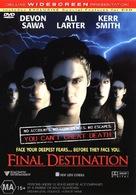 Final Destination - Australian DVD cover (xs thumbnail)