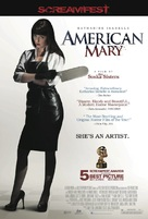American Mary - Theatrical poster (xs thumbnail)