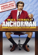 Anchorman: The Legend of Ron Burgundy - DVD movie cover (xs thumbnail)