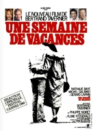 Une semaine de vacances - French Movie Poster (xs thumbnail)