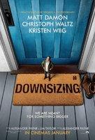 Downsizing - British Movie Poster (xs thumbnail)