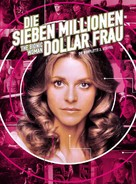 """The Bionic Woman"" - German DVD movie cover (xs thumbnail)"