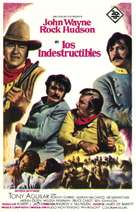 The Undefeated - Spanish Movie Poster (xs thumbnail)