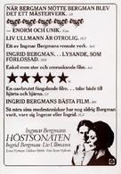 Höstsonaten - Swedish poster (xs thumbnail)