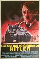 Hitler: The Last Ten Days - Italian Movie Poster (xs thumbnail)