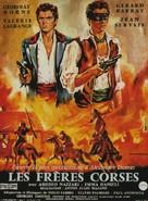 Fratelli Corsi, I - French Movie Poster (xs thumbnail)