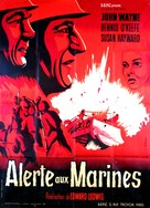 The Fighting Seabees - French Movie Poster (xs thumbnail)
