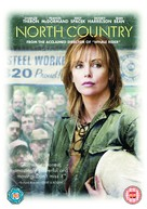 North Country - British DVD movie cover (xs thumbnail)