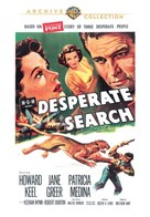 Desperate Search - DVD movie cover (xs thumbnail)