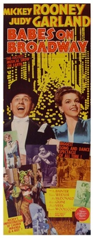 Babes on Broadway - Movie Poster (xs thumbnail)
