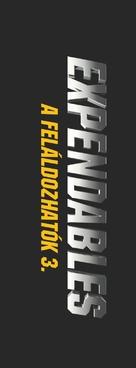 The Expendables 3 - Hungarian Logo (xs thumbnail)
